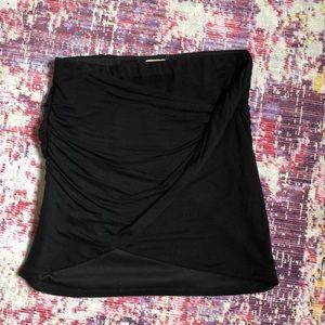 Free people mini wrap skirt